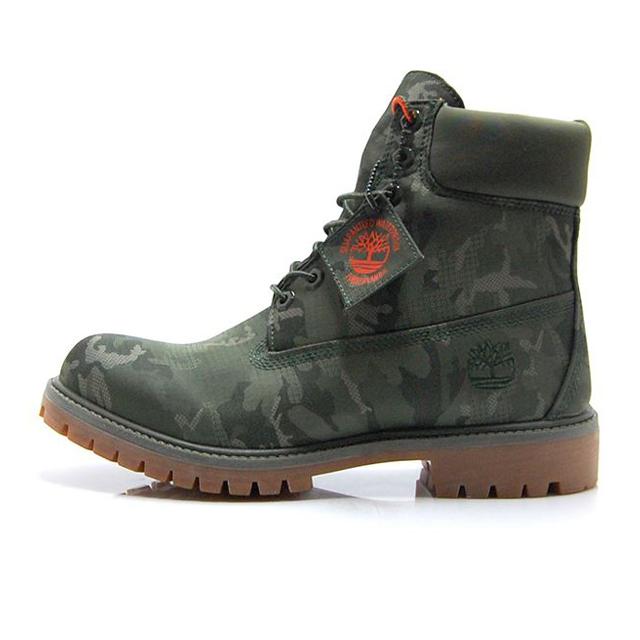 【20%OFF SALE】【送料無料】 ティンバーランド 6インチ プレミアムファブリック ブーツ Timberland 6 Premium Fabric Boot ダークグリーン カモフラージュ A1U9I
