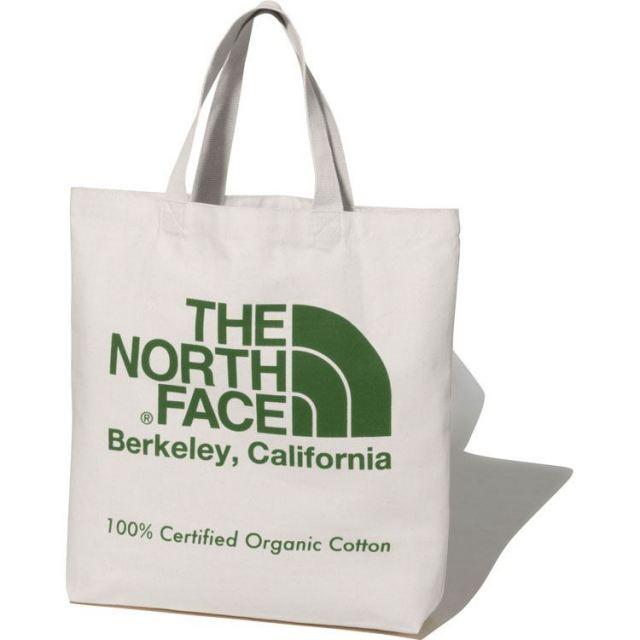 ザ・ノースフェイス TNFオーガニックコットントート THE NORTH FACE TNF ORGANIC COTTON TOTE ナチュラル/ガーデングリーン トートバッグ NM81971-GG