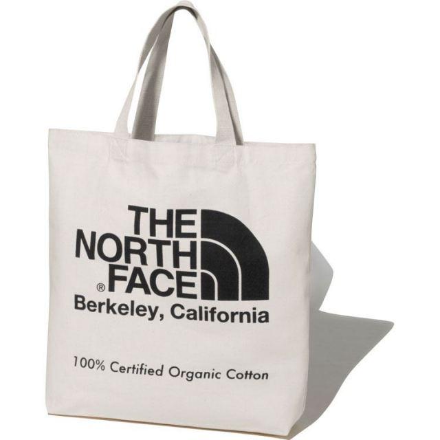 ザ・ノースフェイス TNFオーガニックコットントート THE NORTH FACE TNF ORGANIC COTTON TOTE ナチュラル/ブラック トートバッグ NM81971-K