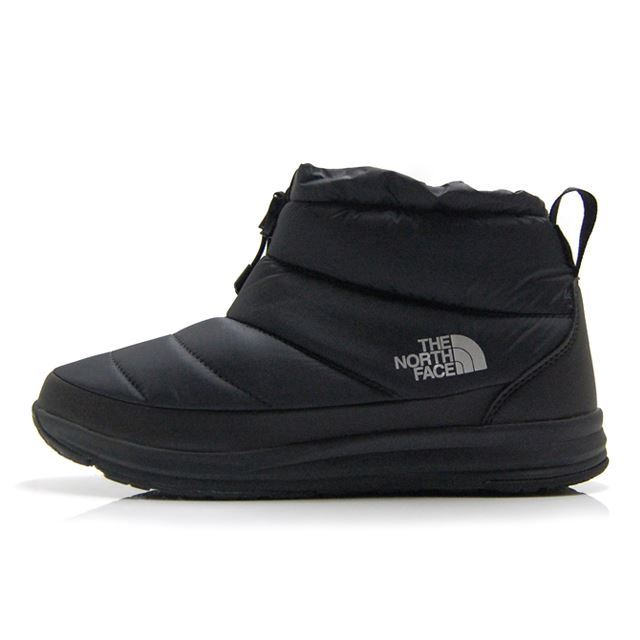 ザ・ノースフェイス ヌプシトラクションライトVウォータープルーフミニ THE NORTH FACE NSE TRACTION LITE V WP MINI ブラック×ブラック メンズ ブーツ NF-51984-KK