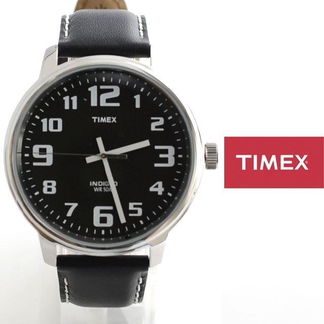 TIMEXタイメックスBIGEASYREADERビッグイージーリーダー革ベルトT28071【ミリタリー/男性用/女性用/定番モデル】