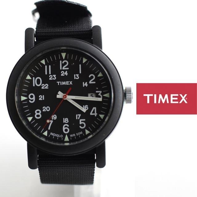 TIMEXタイメックスミリタリーOVER-SIZECAMPERオーバーサイズキャンパーアーミー腕時計定番モデルT2N364【男性用/女性用】