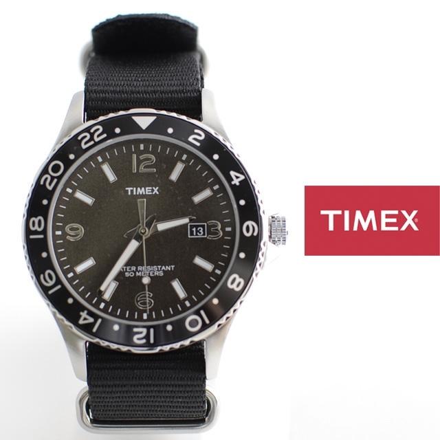 TIMEXタイメックスKALEIDOSCOPENATOカレイドスコープBLACKブラックT2P034【ミリタリー/男性用/女性用/限定モデル】