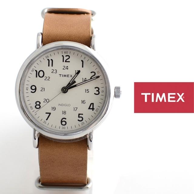 TIMEXタイメックスWEEKENDER40ウィークエンダーフォーティー革ストラップNATOストラップT2P492【男性用/女性用/本革】