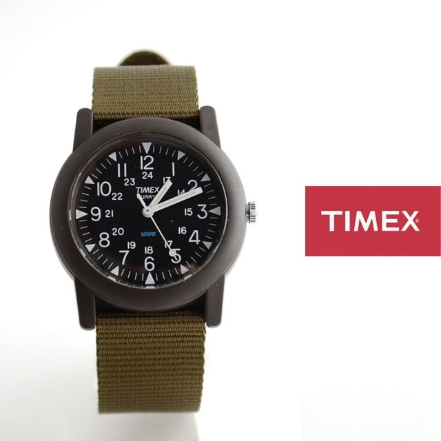 TIMEXタイメックスミリタリーチビミリアーミー腕時計Camperキャンパー定番モデルT41711【男性用/女性用】