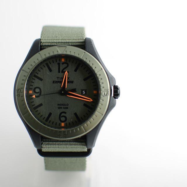 TIMEXタイメックス腕時計ミリタリーナイロンベルトEXPEDITIONエクスペディションALUMINUMCAMPERアルミニウムキャンパーT49932