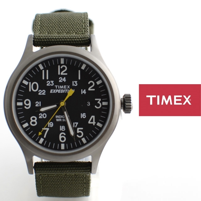 TIMEXタイメックス腕時計EXPEDITIONSCOUTMETALエクスペディションスカウトメタルT49961