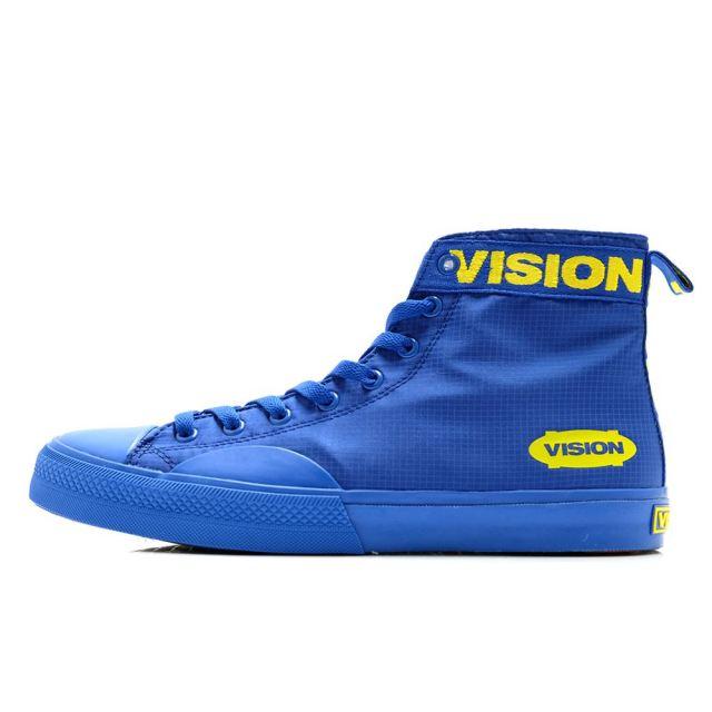 ビジョン ストリートウェア キャンバスハイ SP VISION STREET WEAR CANVAS HI SP BLUE メンズ レディース スニーカー ハイカット ストリート スケートボード VSW-0152-130