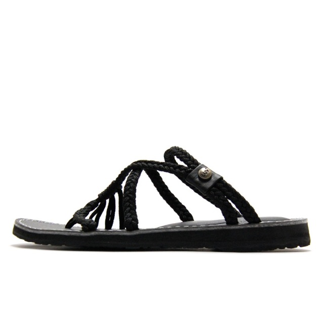 ヴァインズ VINES MIDNIGHT SLIDE FLAT BLACK レディース サンダル V-M-SF-BLACK