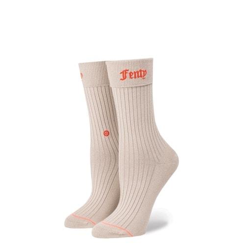 スタンス ソックス STANCE SOCKS FENTY by RIHANNA フェンティ バイ リアーナ レディース 柄物 靴下 くつ下 ハイソックス FENTY PREP W425D17FEN-GRY  / Sサイズ(22.0-25.0cm)