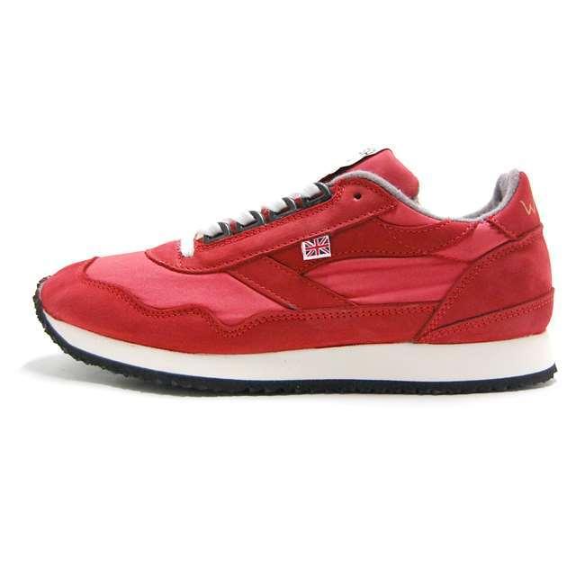 【30%OFF セール】 ウォルシュ WALSH スニーカー メンズ レディース Ensign Millerain RED レッド ENS70060