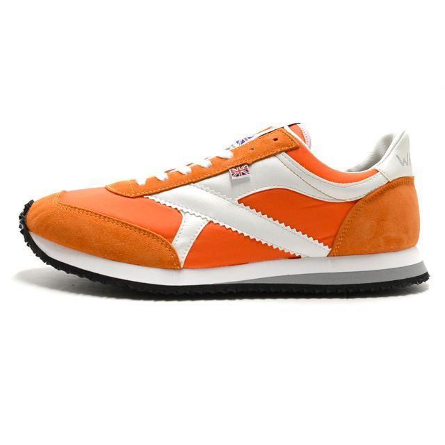 ウォルシュ WALSH スニーカー メンズ トルネード Tornade Orange / Wht  MADE IN ENGLAND オレンジ TOR01394