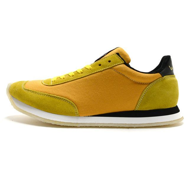 ウォルシュ WALSH スニーカー メンズ トルネードXVII Tornado XV II  Hainsworth  Carnaby Yellow  MADE IN ENGLAND イエロー TOR51010