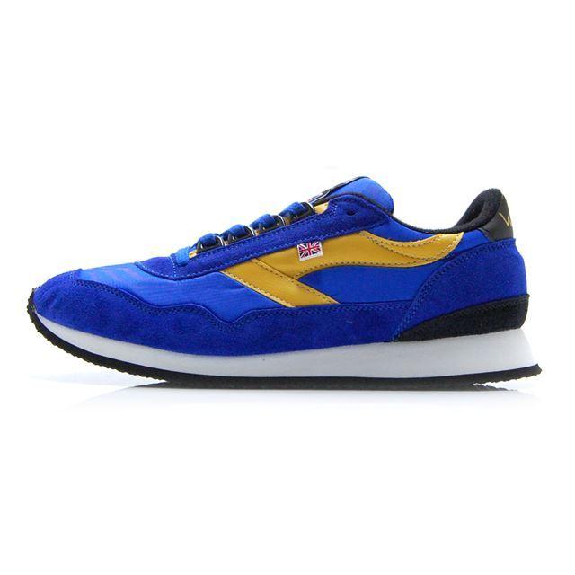 【30%OFF SALE】【送料無料】 ウォルシュ エンサイン WALSH ENSIGN Blue/Yellow メンズ スニーカー イングランド製 英国製 ENS70102