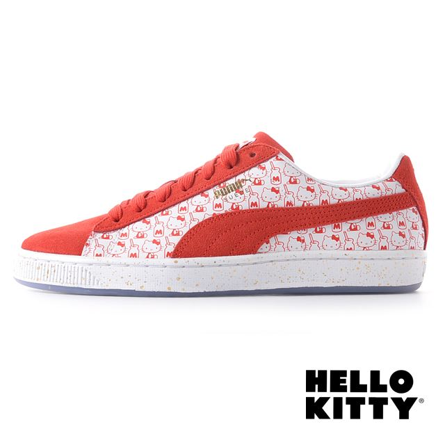 PUMA Suede Classic x Hello Kitty 366306-01
