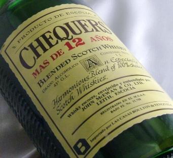 チェッカーズ オールドボトル 1L(70年代流通)