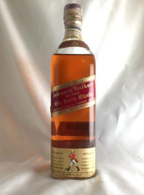 【オールドボトル】ジョニーウォーカー 赤ラベル ワイヤーコルク 43°760ml