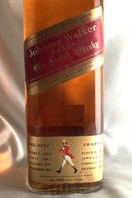【オールドボトル】ジョニーウォーカーレッド 1980年代流通 40°750ml