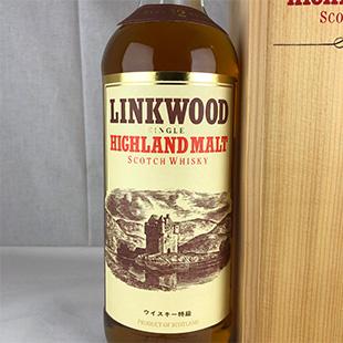 【オールドボトル】リンクウッド12年 80年代 43% 750ml