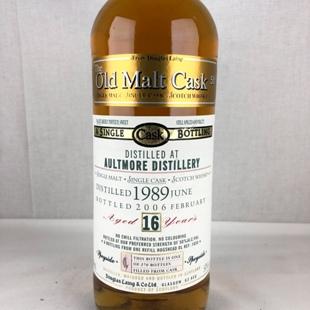 オルトモア16年1989 DL-OMC 50% 700ml