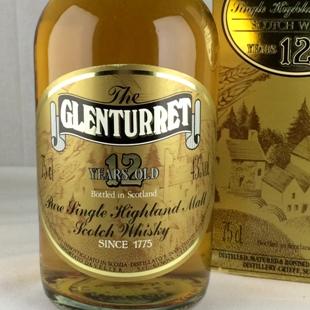 【オールドボトル】グレンタレット12年 80年代 43% 750ml