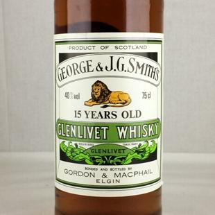 【オールドボトル】グレンリベット15年 GM Smiths 750ml