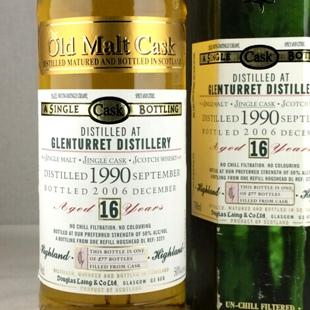 【オールドボトル】グレンタレット16年 1990 DL-OMC