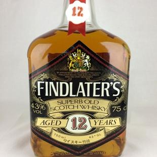 【オールドボトル】フィンドレーター12年 特級表示 43% 750ml