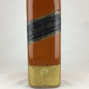 【オールドボトル】ジョニーウォーカー黒ラベル 60年代 ワイヤーコルク 43% 760ml