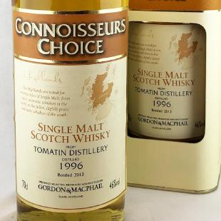 トマーティン1996 ゴードン&マクファイル コニサーズチョイス(旧ボトル) 46% 700ml