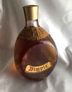 【オールドボトル】ディンプル 70年代流通 40°700ml