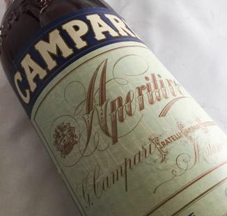 【オールドボトル】カンパリ 70年代後半~80年代前半 アペリティーヴォ表示 24% 1000ml