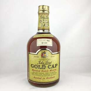 【オールドボトル】ジョンベッグ ゴールドキャップ 43% 760ml