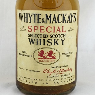 【オールドボトル】ホワイト&マッカイ12年 70年代中期 43% 750ml