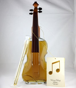 【オールドボトル】サントリー ローヤル バイオリン型ボトル 43% 700ml