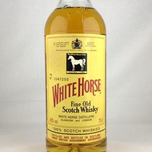 【オールドボトル】ホワイトホース ファインオールド 90年代流通 NR栓 43% 750ml