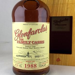 グレンファークラス28年1988 ファミリーカスク リフィルシェリー 48.5%
