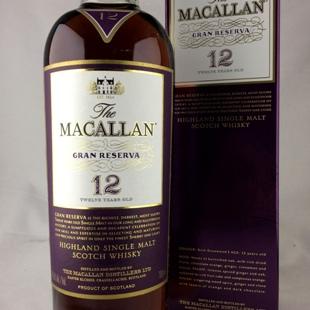 マッカラン グランリゼルバ12年 (1stリリース2007)