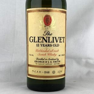 グレンリベット12年 アンブレンデッド 43度 750ml
