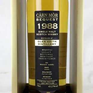 グレンキース29年1988 M&M ビクエスト 43.2%