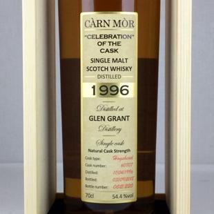 グレングラント22年1996 M&M COC 54.4%