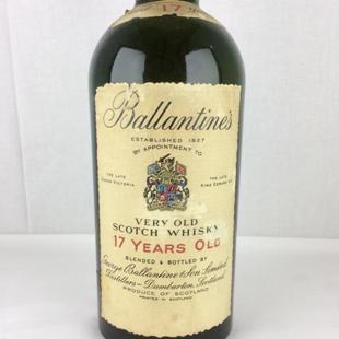 【オールドボトル】バランタイン17年 70年代前半 43% 760ml