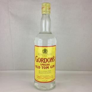 【オールドボトル】ゴードン オールドトムジン 80年代 43% 750ml