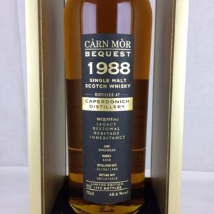 キャパドニック30年1988 モリソン&マッカイ ビクエスト 48.6% 700ml