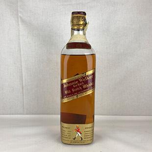【オールドボトル】ジョニーウォーカー 赤ラベル 60年代ワイヤーコルク 43% 760ml