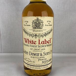 【オールドボトル】デュワーズ ホワイトラベル 70年代後半 43% 760ml