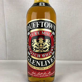 【オールドボトル】ダフタウン8年 70年代後半 特級表記 43% 750ml