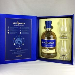 キルホーマン マキヤーベイ Gift Pack グレンケアングラス2個セット 46% 700ml