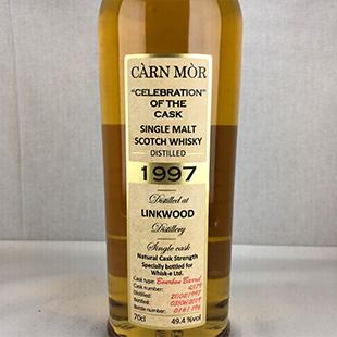 リンクウッド22年1997 セレブレーションオブザカスク モリソン&マッカイ 49.4% 700ml