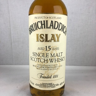 【オールドボトル】ブルイックラディ15年 90年代 43% 700ml